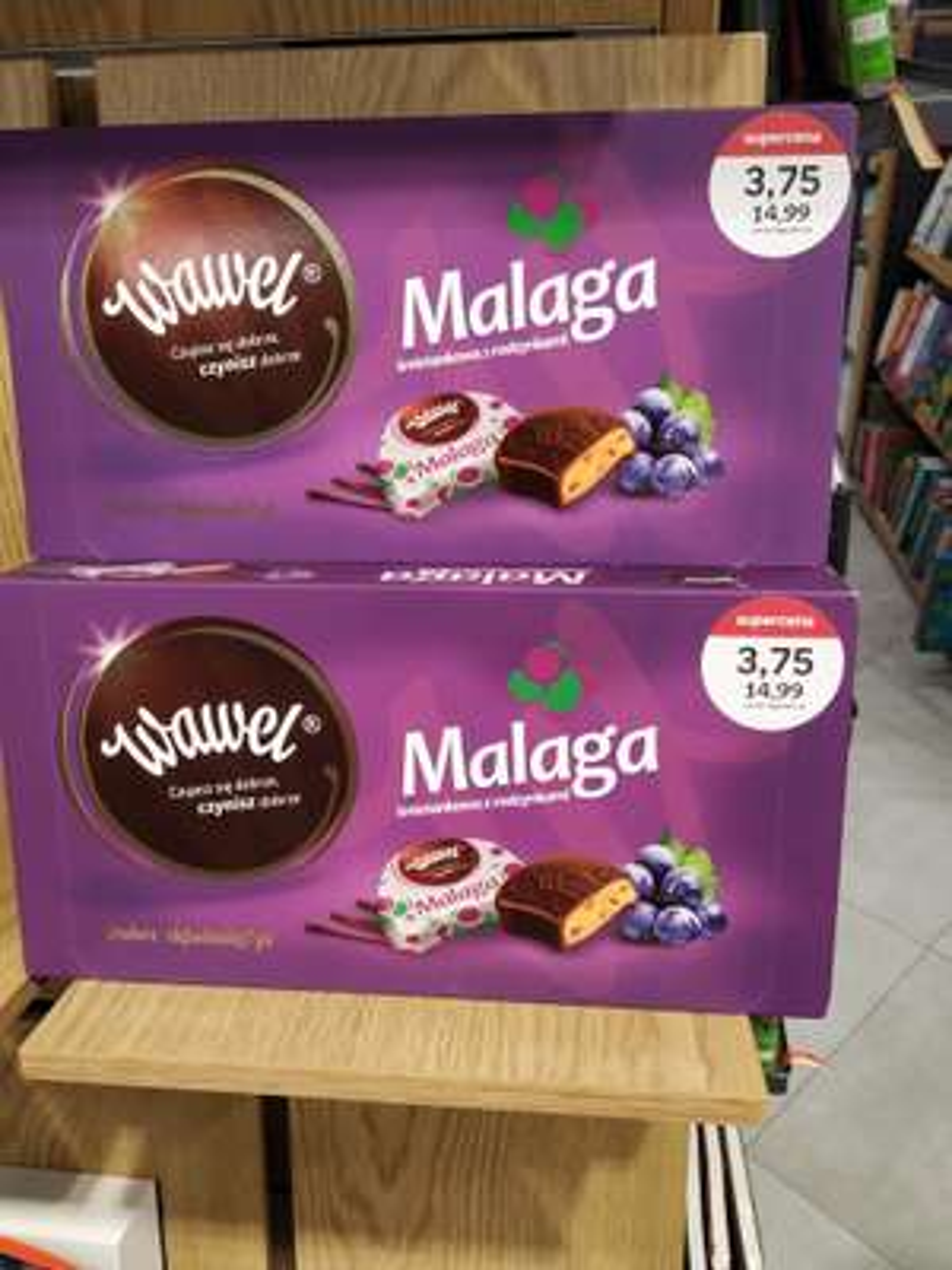 Cukierki Wawel Malaga w Empiku Warszawa