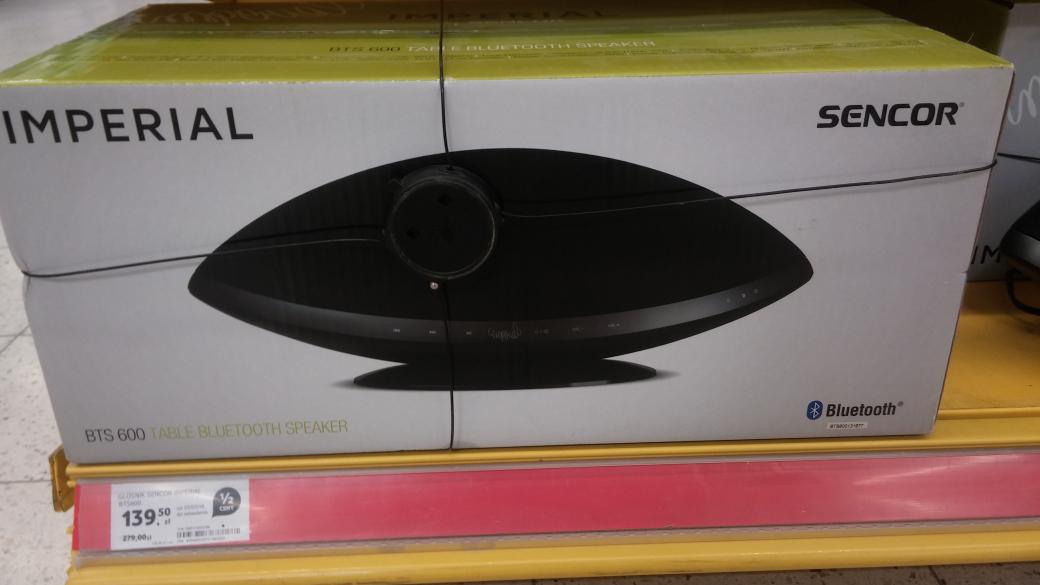Imperial BTS 600 duży głośnik Bluetooth (Kielce) Tesco