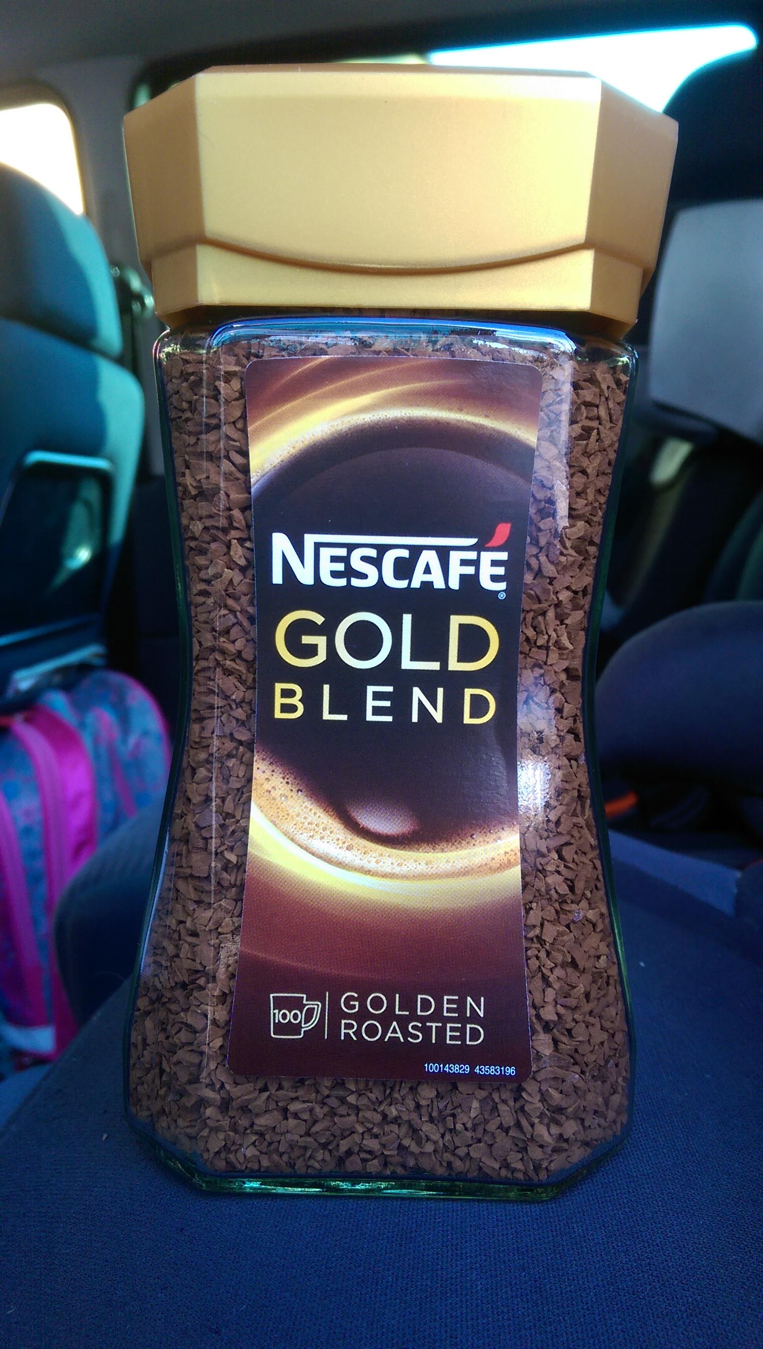 Kawa rozpuszczalna Nescafe Gold Blend 200g (Biedronka)