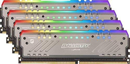 DDR4 64GB (4x16) crucial ballistix tracker RGB 2666mhz cl16 RAM pamięć Amazon.de