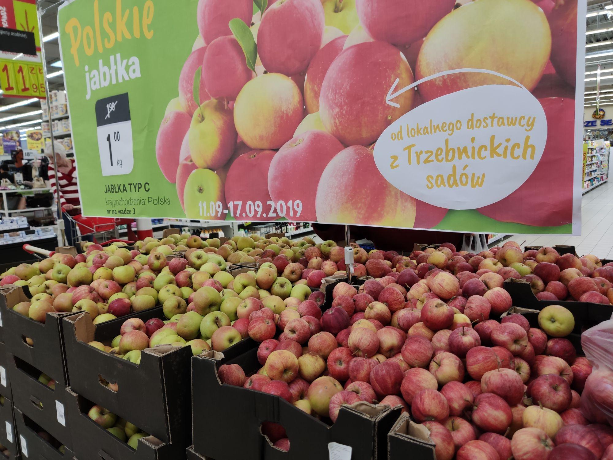 Jabłka polskie B1 Legnica