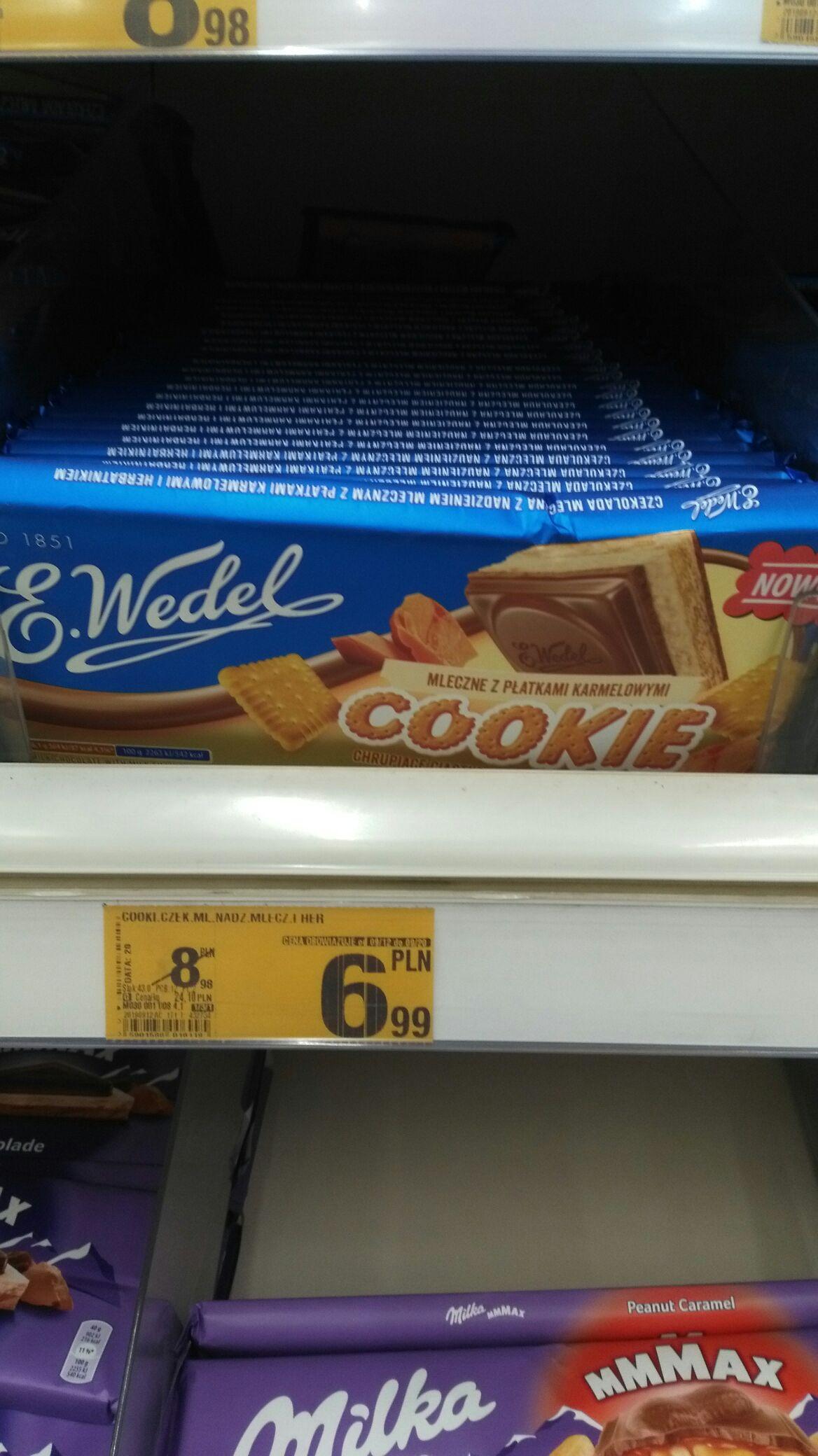 Czekolada Wedel cookie 290g
