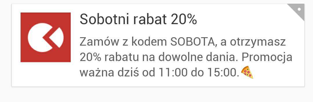 Pizzaportal - 20% DZIŚ DO 15:00
