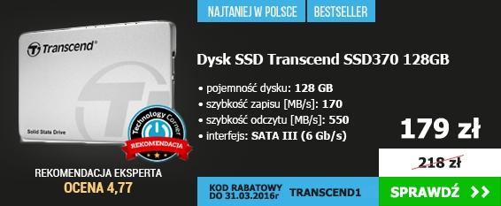 Dysk SSD Transcend SSD370 128GB SATA3