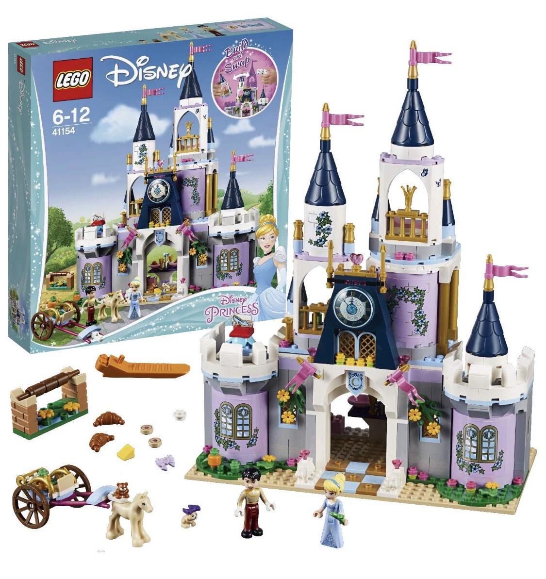 LEGO Disney - Wymarzony zamek Kopciuszka 41154 SMYK Galeria Bałtycka Gdańsk