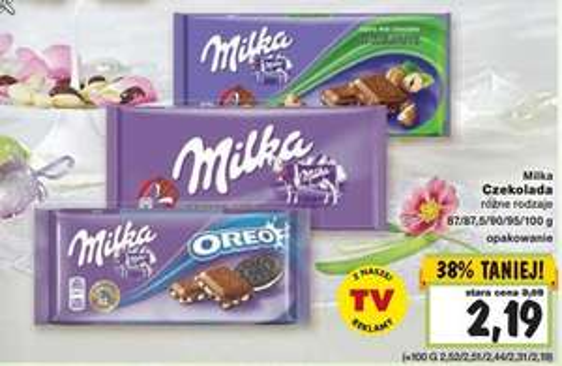 czekolada Milka @ Kaufland