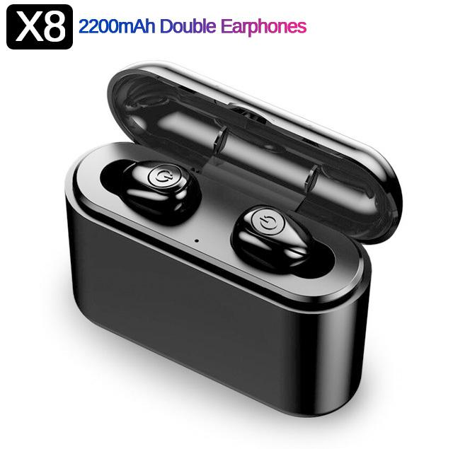 Słuchawki X8 Bluetooth TWS za $11.49