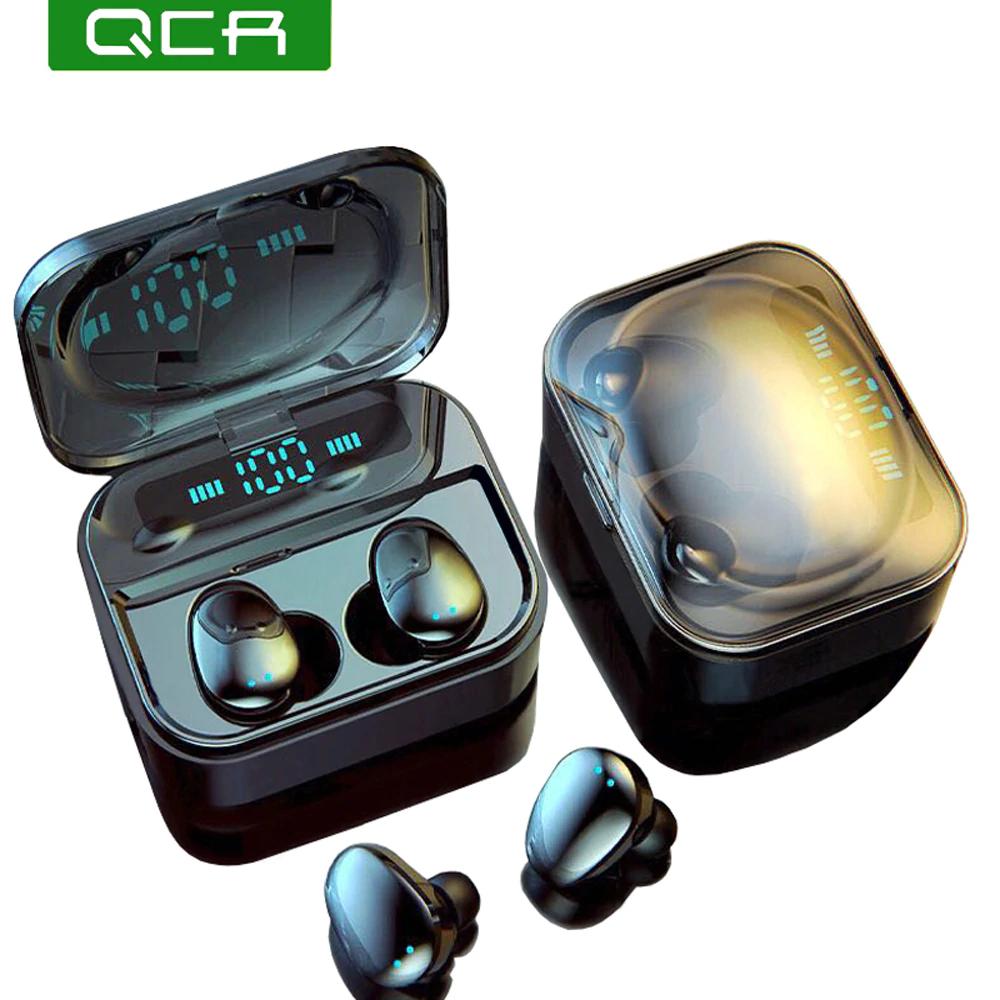 Słuchawki QCR IP7 TWS 5.0 Bluetooth za $17.52