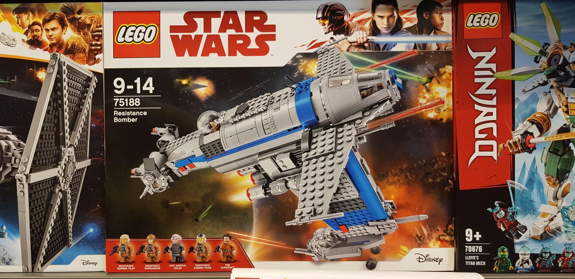 Lego Star Wars Bombowiec ruch oporu Selgros Szczecin