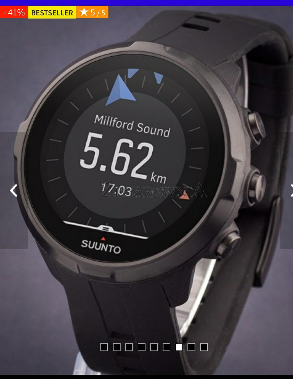 Zegarek Suunto Spartan Sport Wrist HR All Black