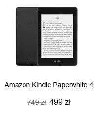 Kindle Paperwhite 4 8GB IPX8 special offer czarny