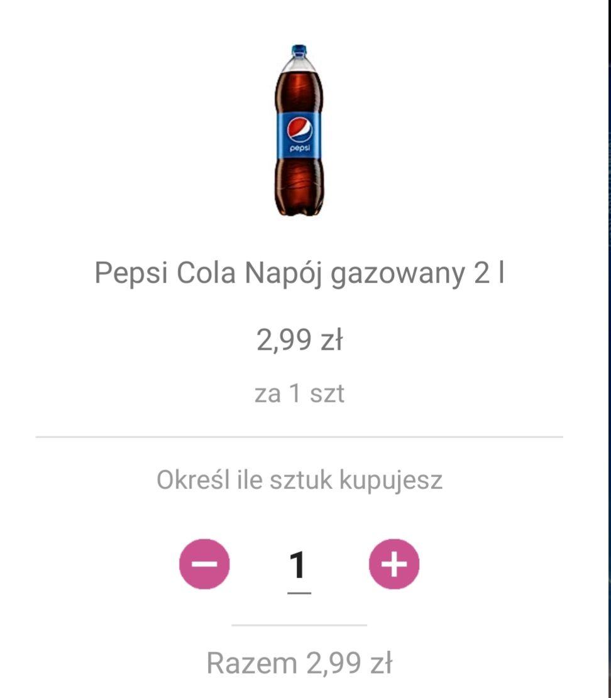 Pepsi 2L - Carrefour Nowy Sącz