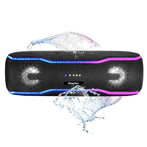 Głośnik Bluetooth 20W EasyAcc F10 - IPX7, 5000 mAh @Amazon