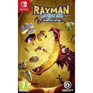 Rayman Legends Definitive Edition na Nintendo Switch wersja pudełkowa z TheGameCollection 16.95 funta z wysyłką