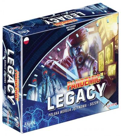 Pandemic legacy - 2 miejsce na BGG przecenione i dorzucają do tego kabanosy!