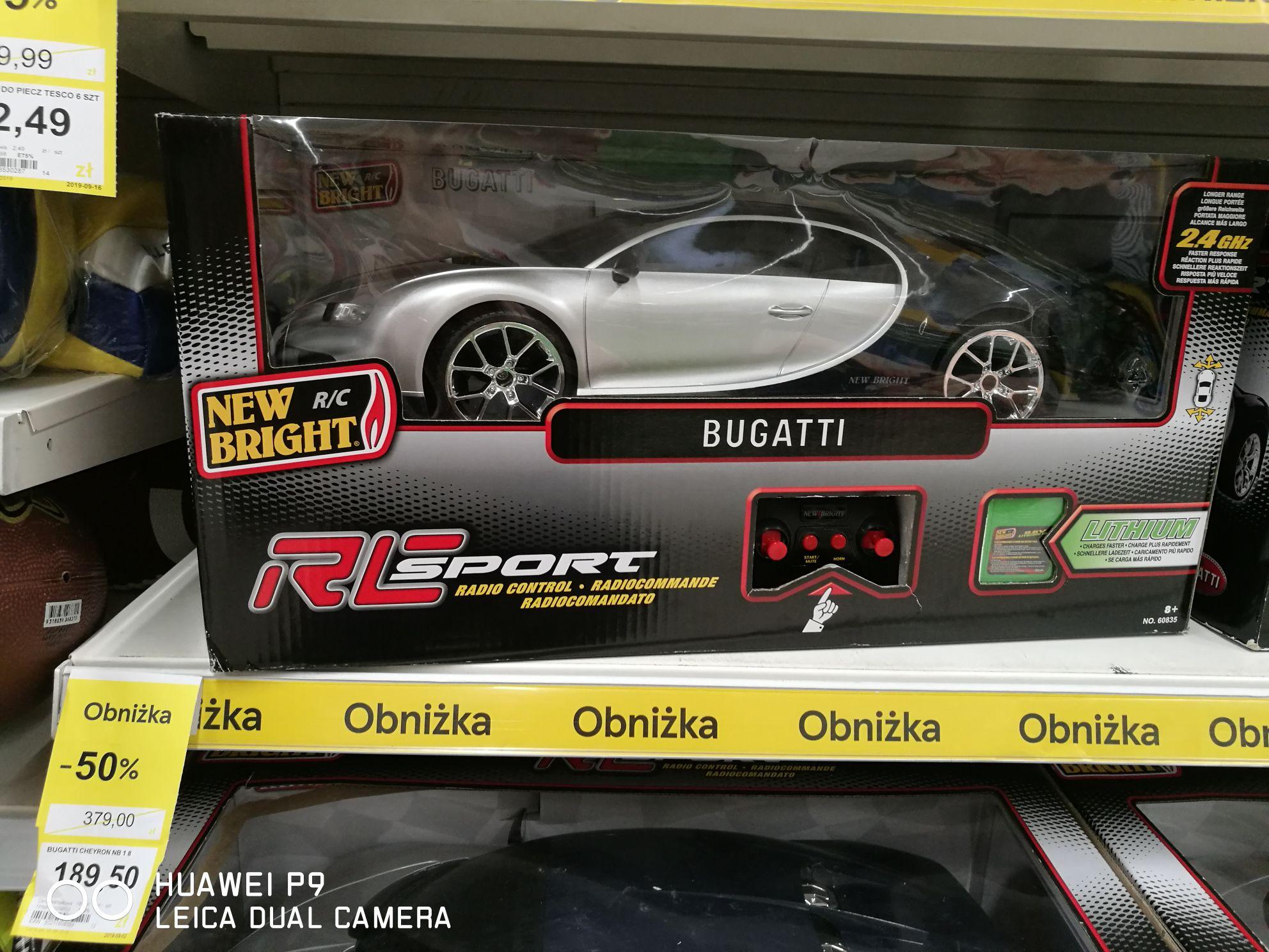 Czekolada Milka Chips Ahoy, Goralki, auto Bugatti