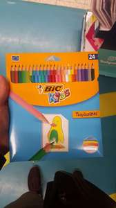 Tesco Kredki BIC Kids Tropicolors