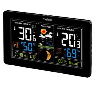 Stacja pogodowa METEO SP69, DCF, barometr, prognoza pogody