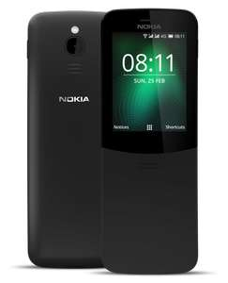 Telefon komórkowy Nokia 8110, 4G 2018 Dual SIM LTE GPS IP52 Black