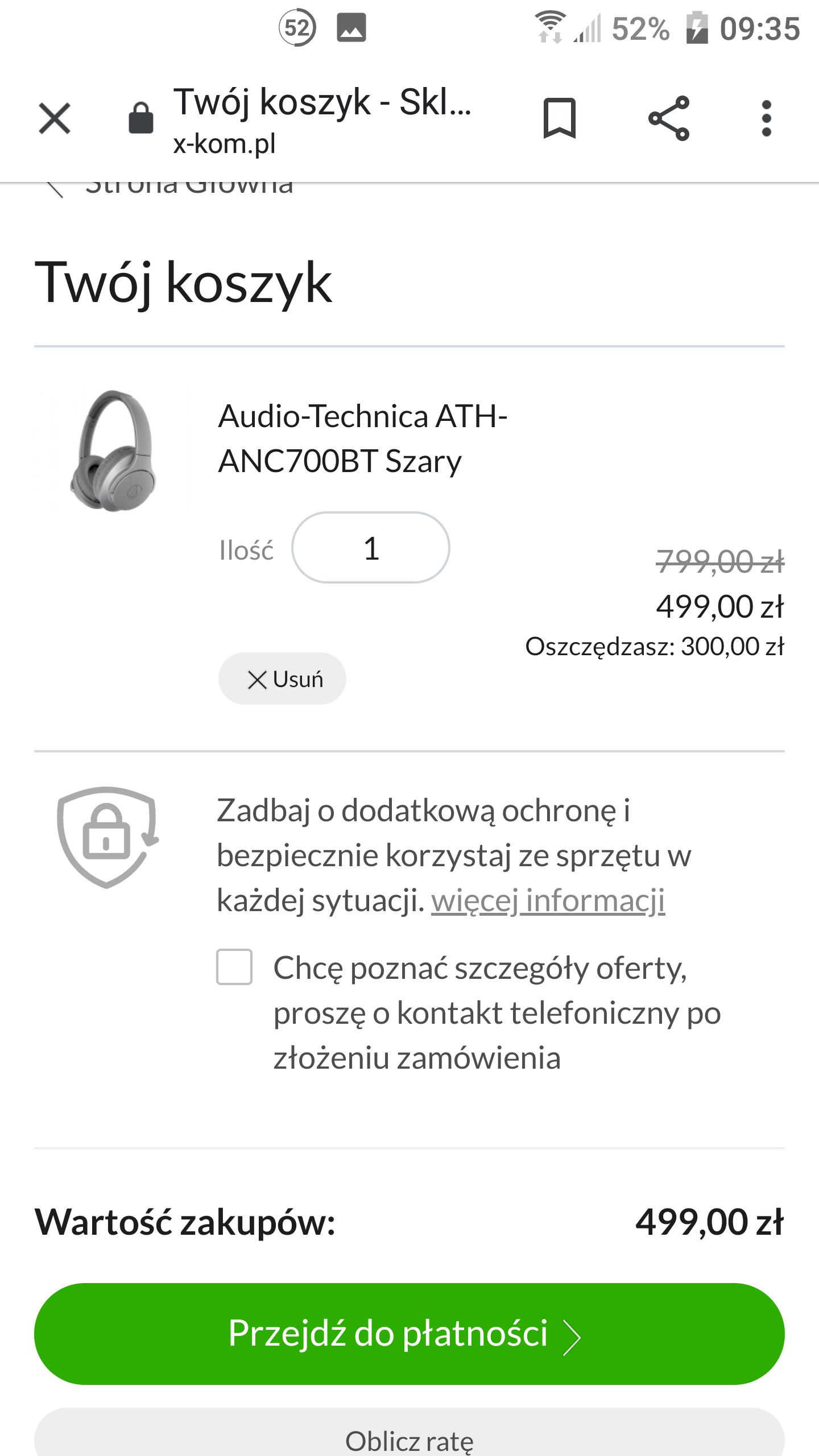Audio-Technica ATH-ANC700BT  słuchawki