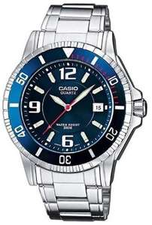 Zegarek Casio MTD-1053D-2AVES niebieski 200m Diver 3 lata gwarancji, teraz z darmową dostawą!