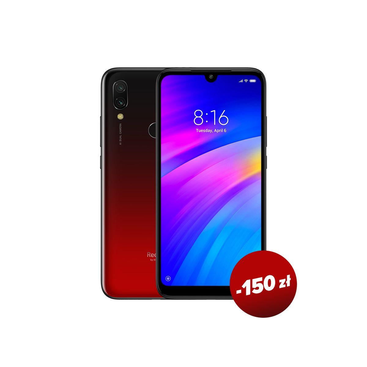 Xiaomi redmi 7 3/32 czerwony