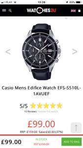 Casio mens Edifice EFS-S510L-1AVUEF