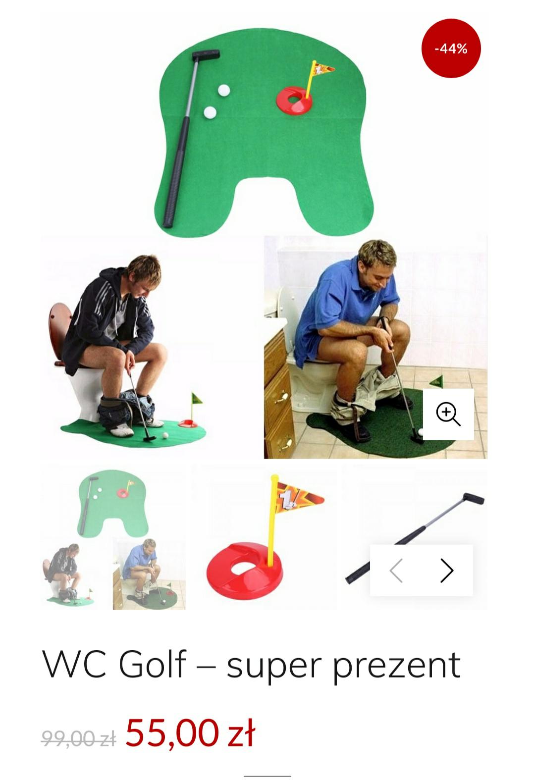 WC Golf – super prezent