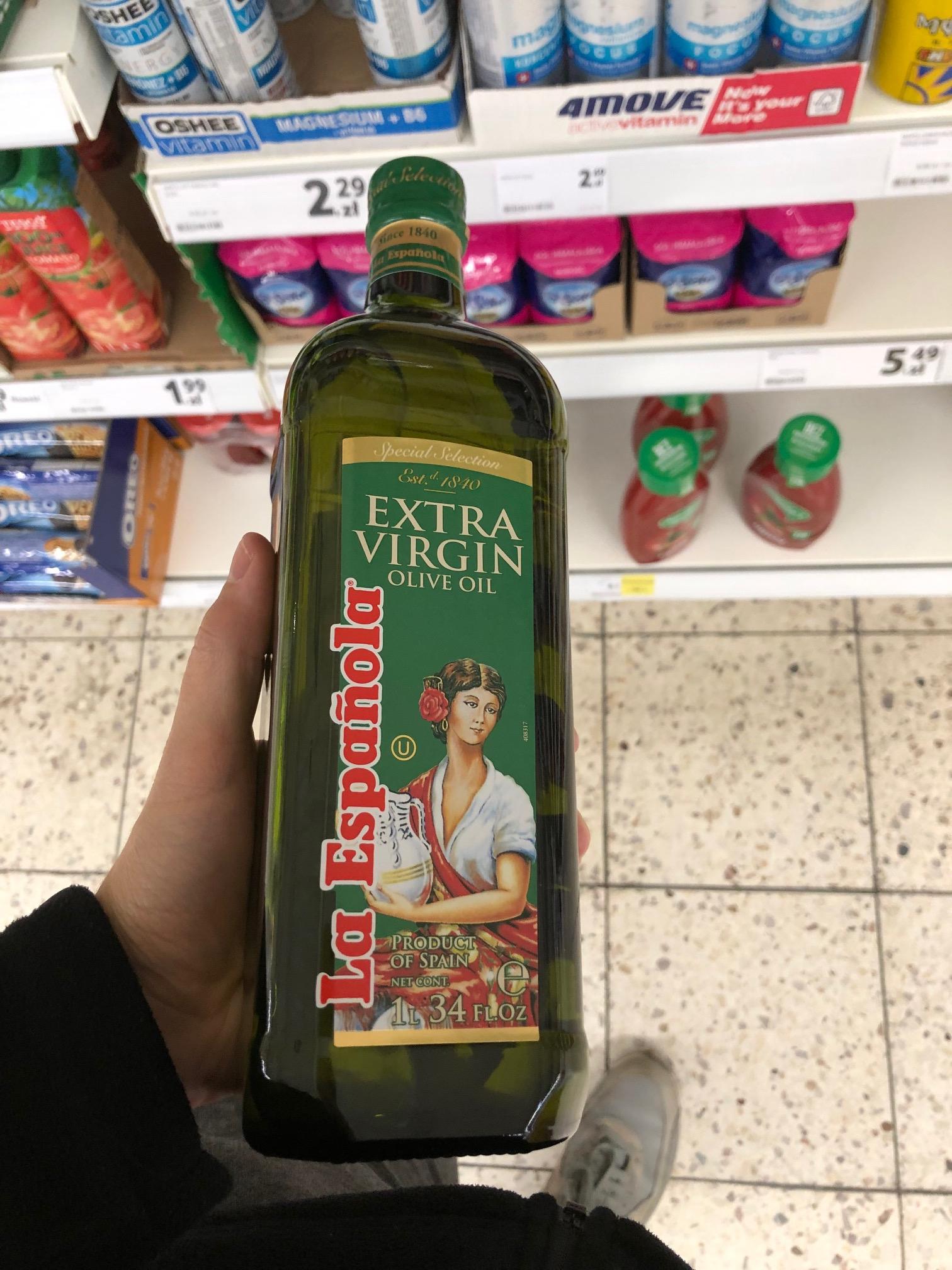Oliwa z oliwek La Española Extra Virgin - Tesco