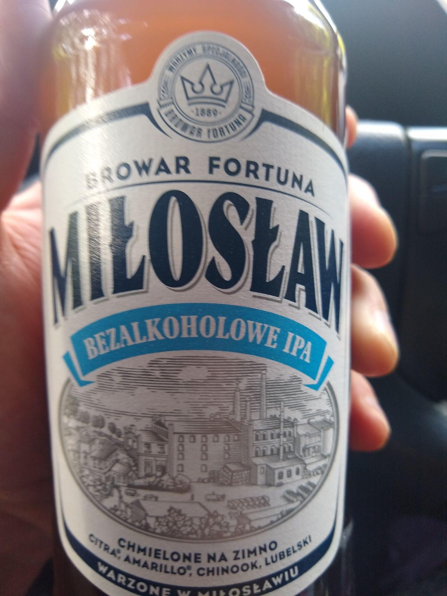 Piwo Miłosław Bezalkoholowe IPA  i inne Biedronka