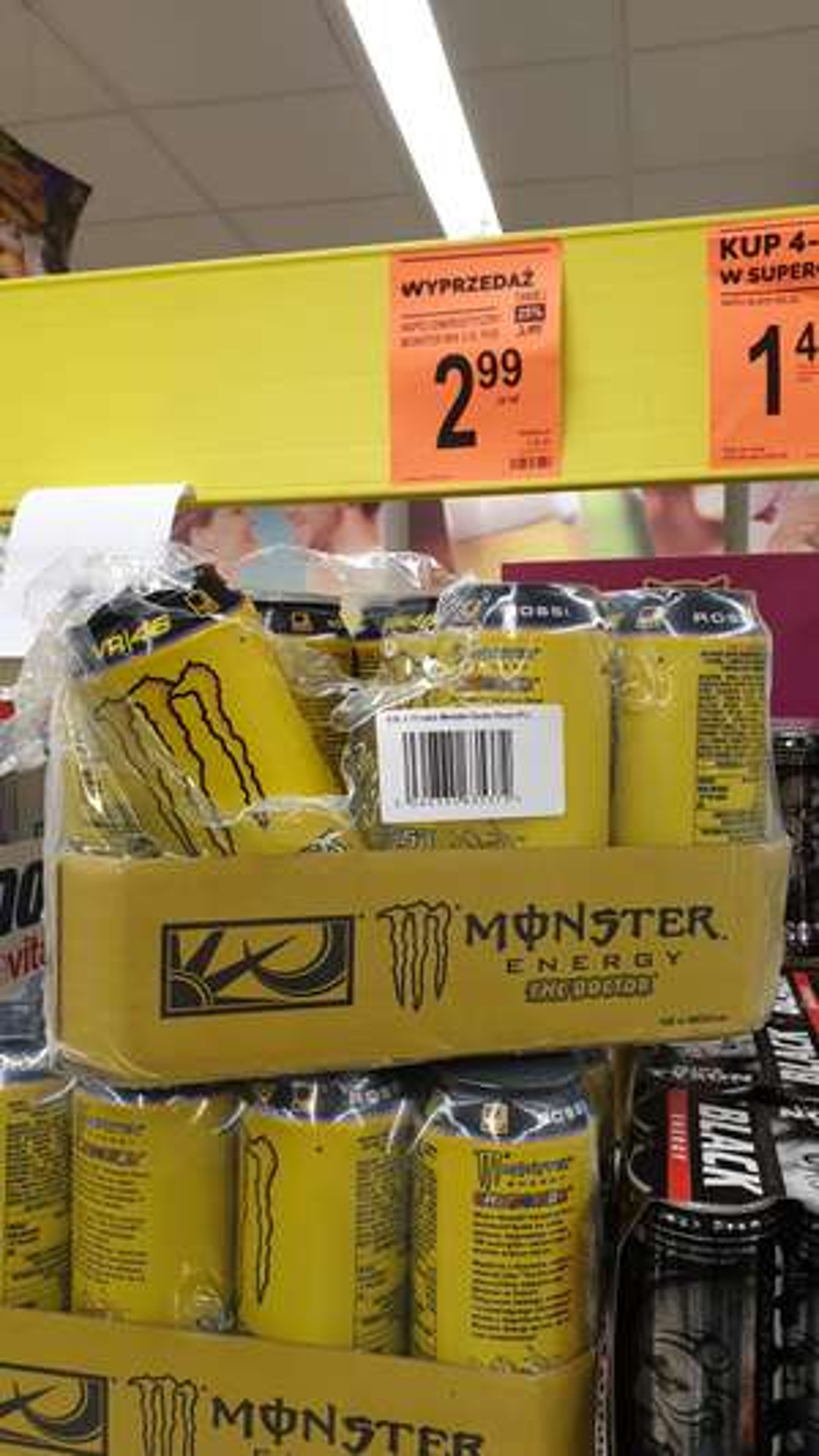 Energy drink Monster Doctor (żółty) | Biedronka