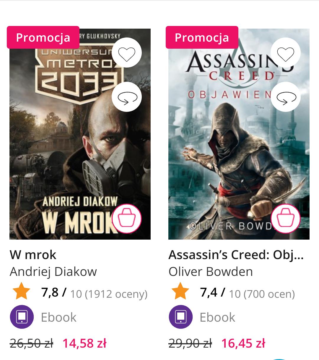 Ebooki Warcraft, Metro i inne do - 45%