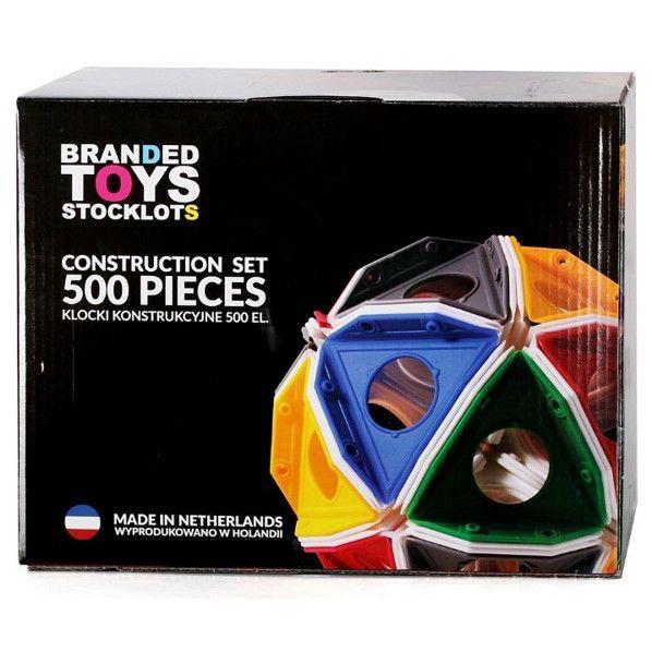 Kreatywne klocki konstrukcyjne Triqo 500 el. Branded Toys, Carrefour