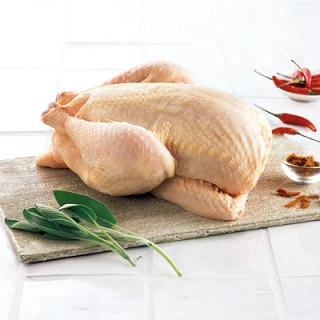 Kurczaki w promocji: Zagrodowy z Podlasia ( bi1 9,95 zł), Farmio Babuni bez antybiotów (Stokrotka 10,99zł), cena 1kg