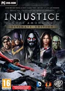 Injustice Gods Among Us Ultimate Edition PL DIGITAL PC/Steam