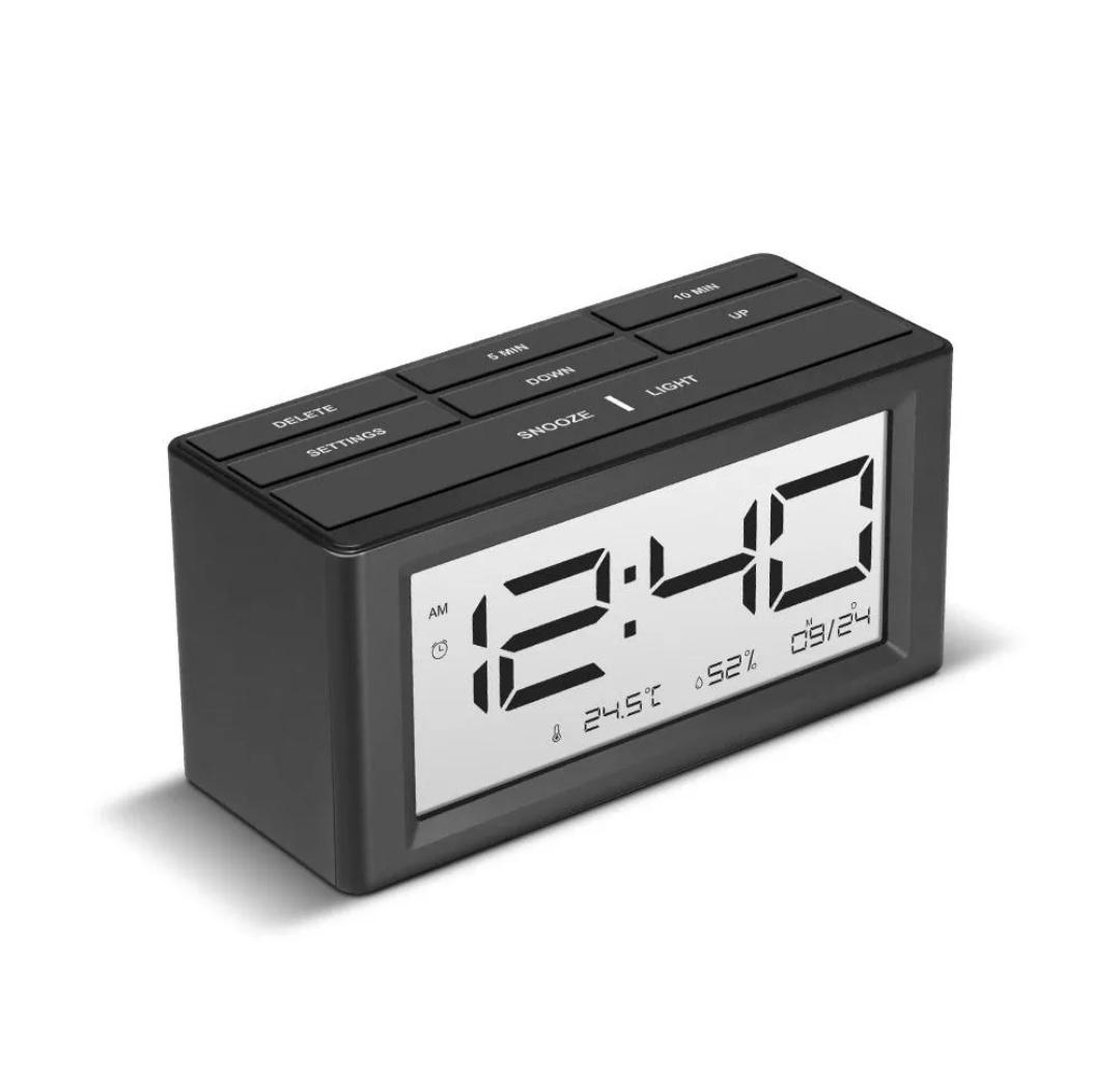 Digoo DG-C4S  zegarek z funkcjami budzik, kalendarz, temperatura, wilgotność powietrza
