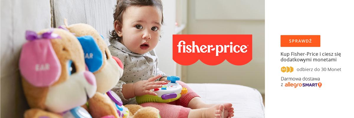 Kup Fisher-Price i odbierz do 30 monet, @allegro