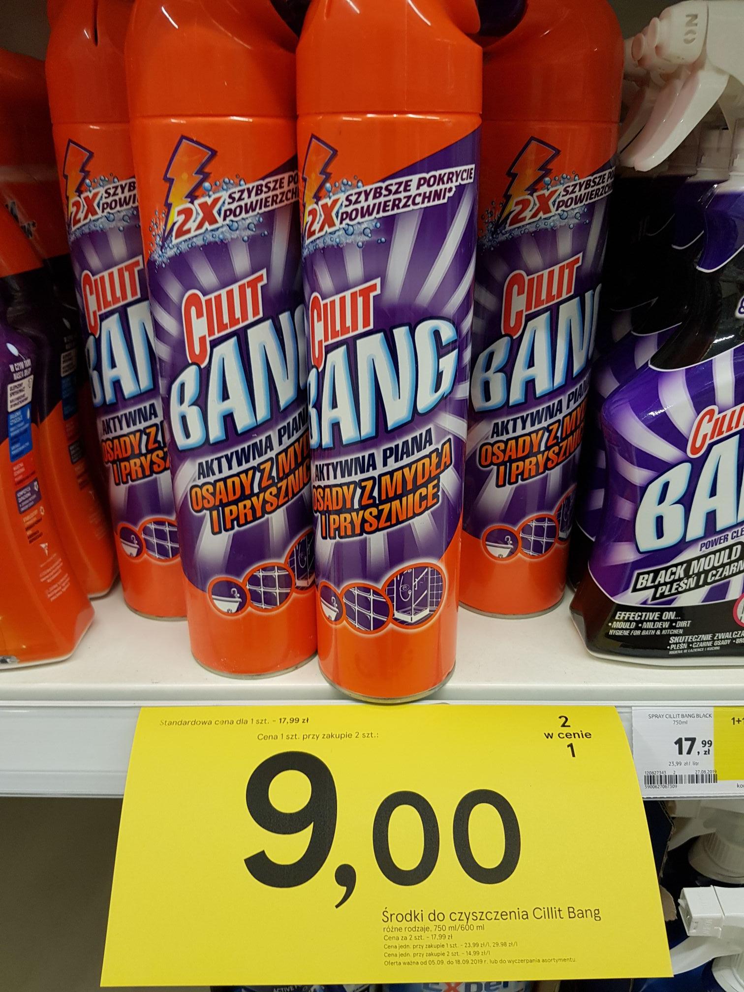Cillit Bang , cena za 1 szt przy zakupie 2 szt Tesco