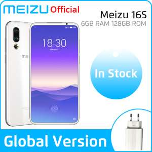 Meizu 16s 8/128 GB Snap 855 Global Version Biały  bez VAT