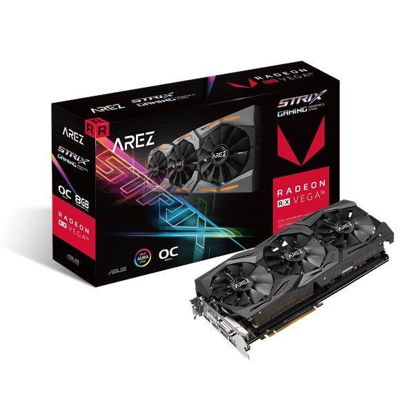 Asus Radeon RX Vega 56 Strix OC Gaming 8GB HBM2 @Amazon.de