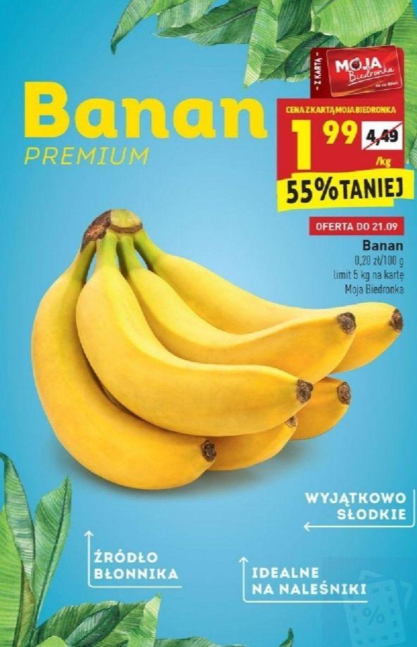 Banany. Biedronka