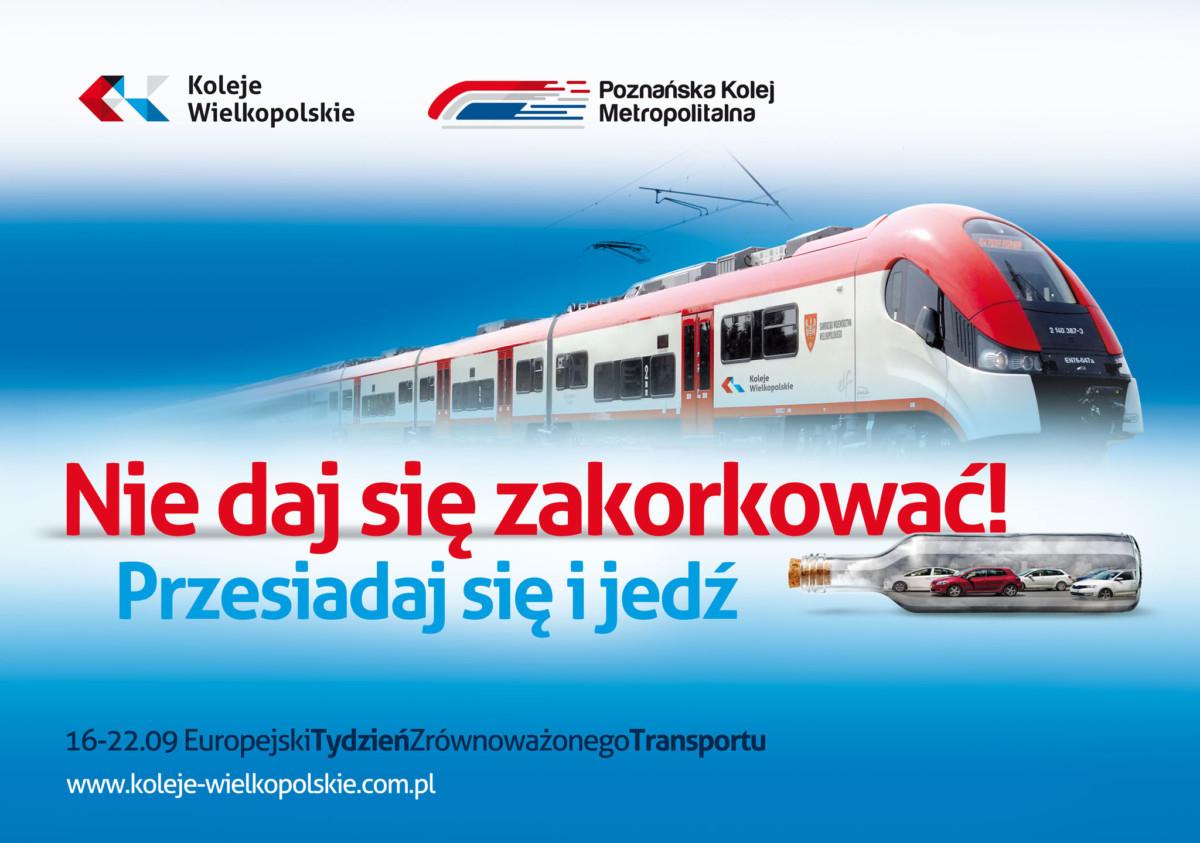 Koleje Wielkopolskie: Za darmo pociągami KW z dowodem rejestracyjnym
