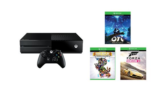 Xbox One 1TB z 3 grami (Forza Horizon 2, Rare Replay, Ori and Blind Forest) @ Microsoft