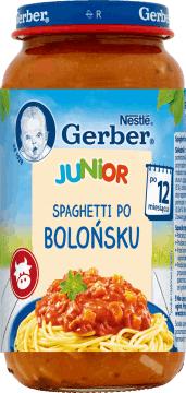 Kup dowolny obiadek Gerber 250g, a drugi możesz kupić 50% taniej.