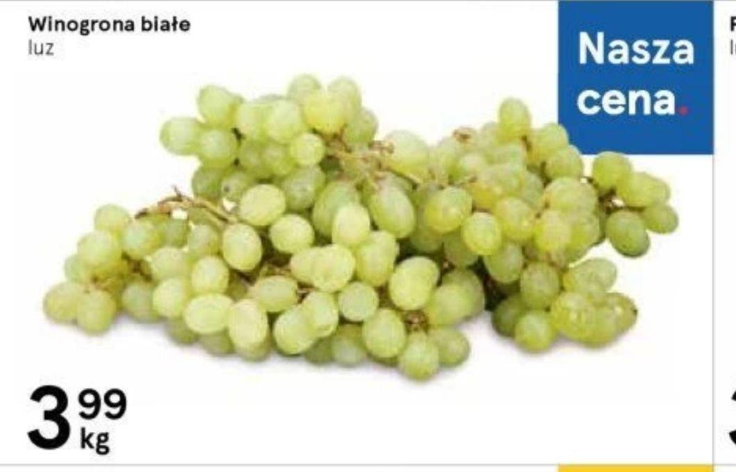 Winogrona białe 1kg/3.99zł Tesco od 19 do 25