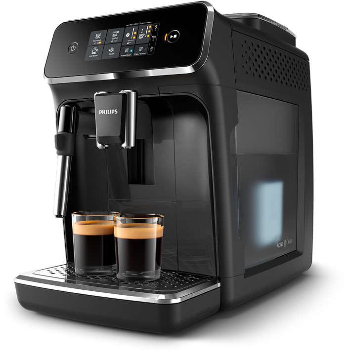 Automatyczny ekspres do kawy Philips EP2224/40 ze spieniaczem mleka i młynkiem ceramicznym,15bar,