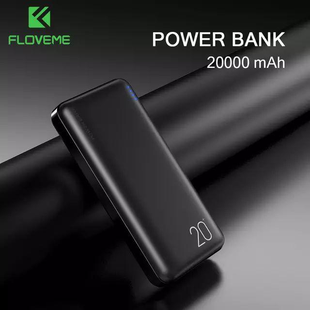 Duży powerbank FLOVEME 20000 mAh