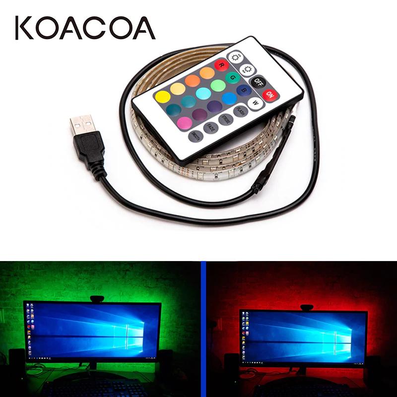 Niedroga samoprzylepna taśma LED zasilana z USB