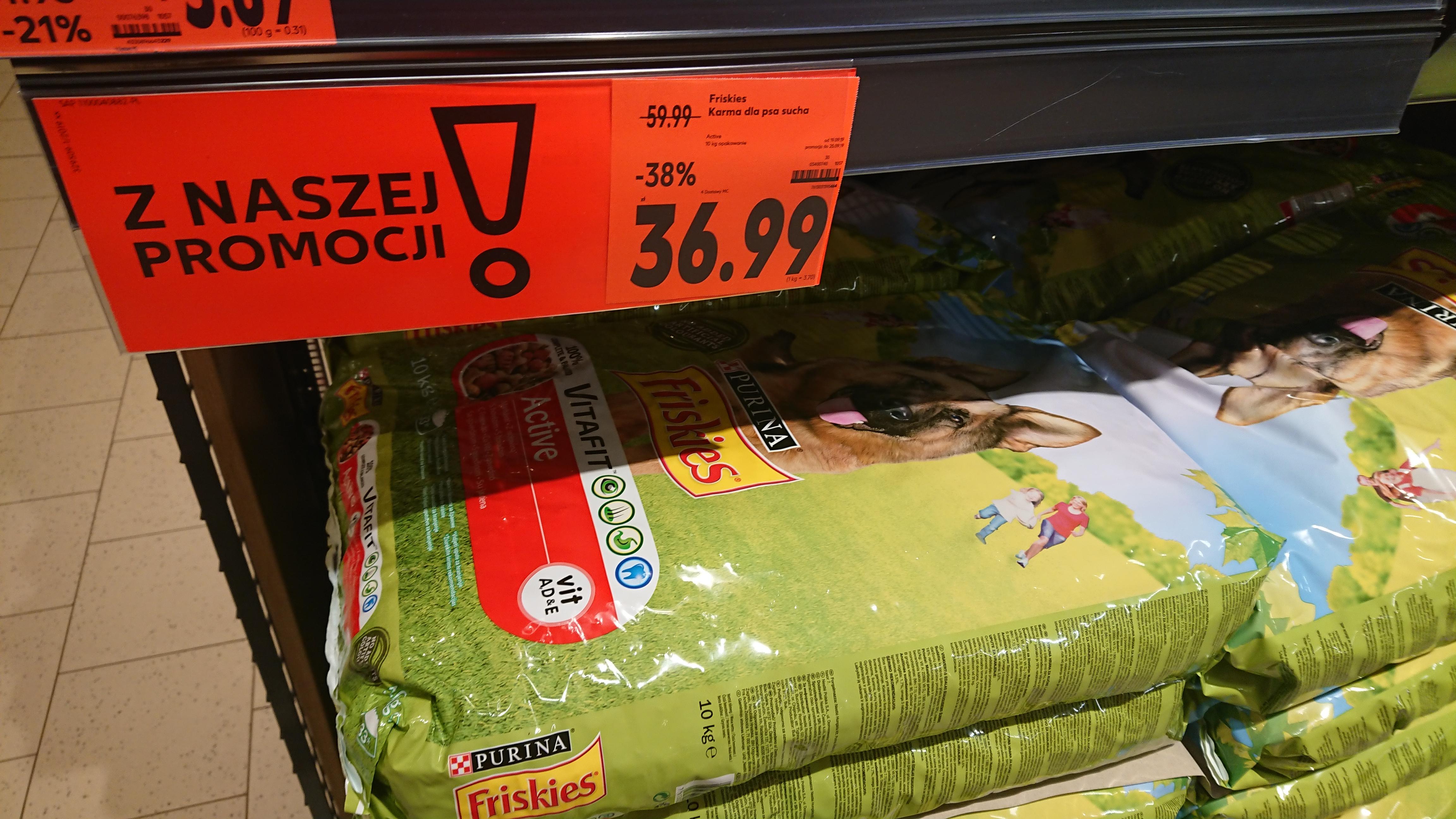 Karma dla psa Frieskies 10kg Kaufland