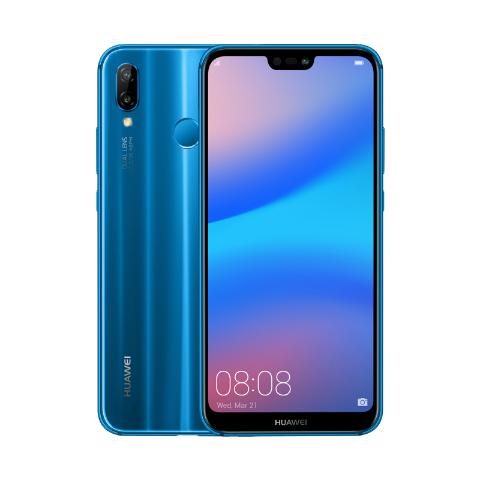 HUAWEI P20 Lite 4+64 GB  czarny / niebieski